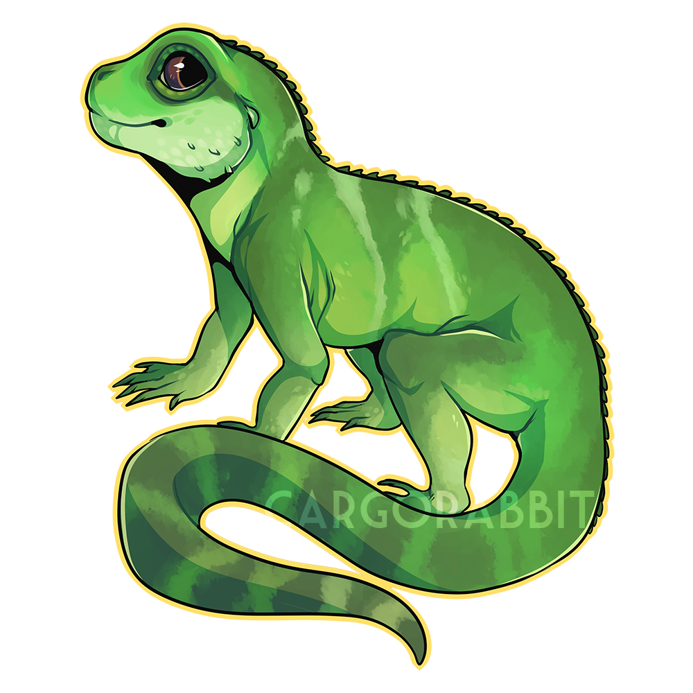 C chinese by diehasen. Lizard clipart water dragon