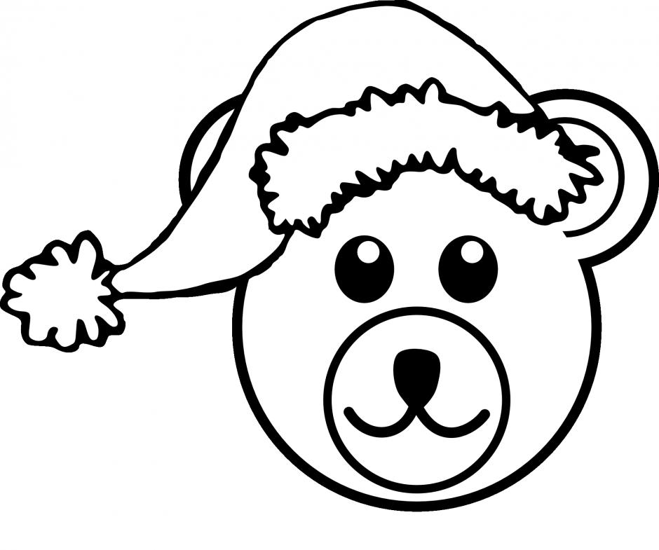 Free teddy bear black. Llama clipart head