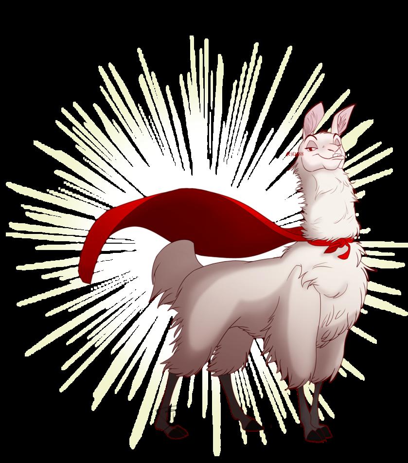 Llama clipart movie disney. Image super albino png
