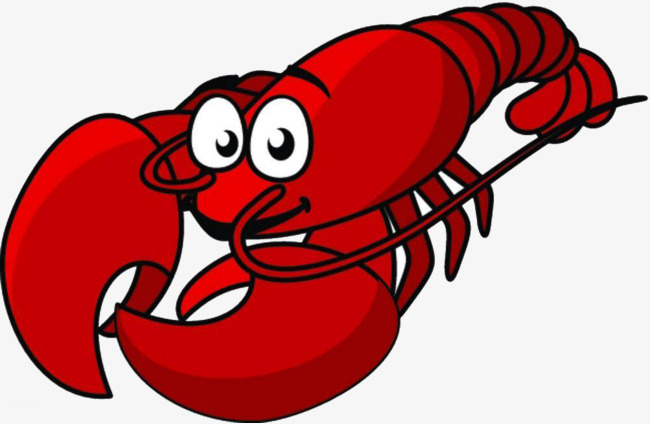 Lobster clipart. Red tail crayfish png