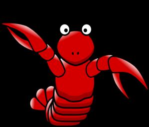 Cartoon clip art at. Lobster clipart