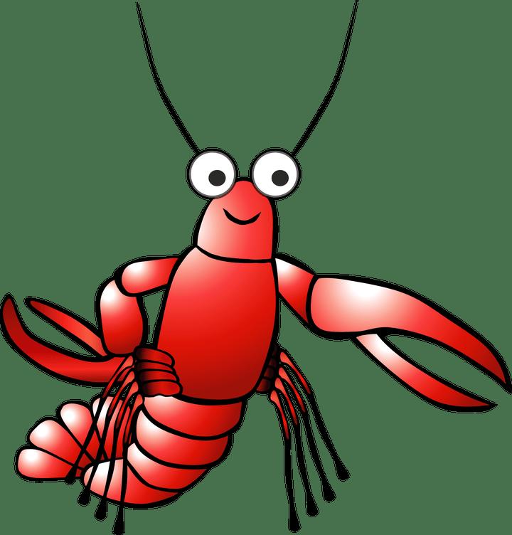 Lobster clipart animated. Cartoon clip art cartoonjdi