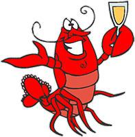 Free gifs lobsters . Lobster clipart animated