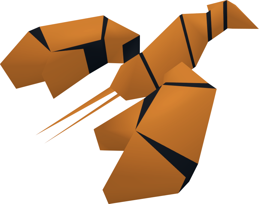 Lobster clipart cooked. Raw runescape wiki fandom