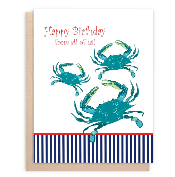 Happy birthday blue crabs. Lobster clipart crab maryland