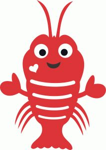 Lobster clipart cute. Free download best