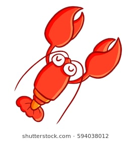 Drawing at paintingvalley com. Lobster clipart cute