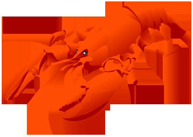 Clip art clipartix. Lobster clipart happy