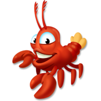 Nh emblems colors patterns. Lobster clipart langosta