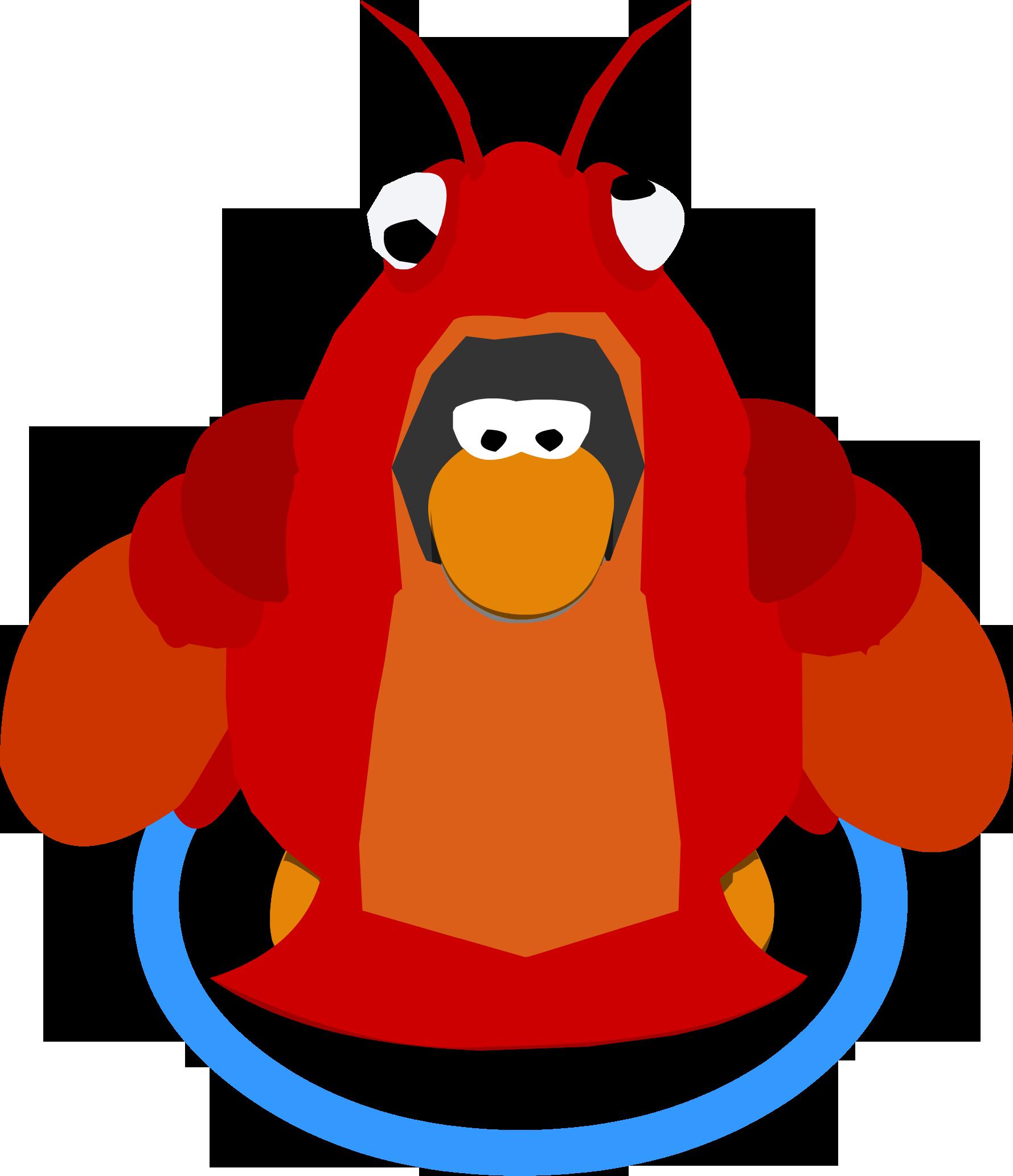 Lobster clipart langosta. Image costume cu ig