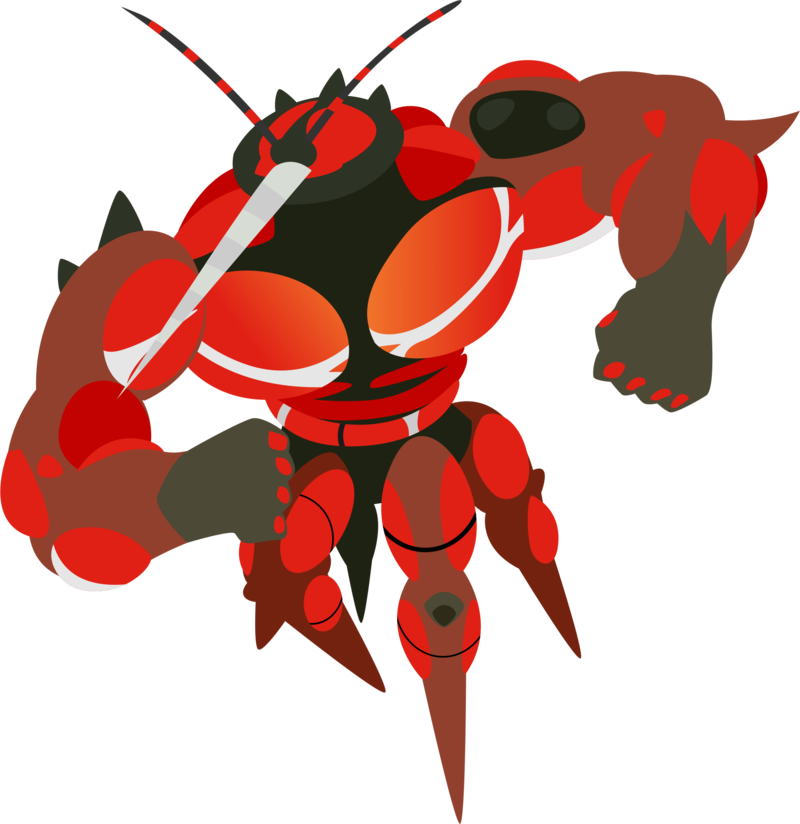 Ub expansion buzzwole by. Lobster clipart larry the