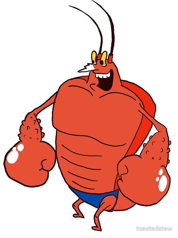Expansion pok mon amino. Lobster clipart larry the