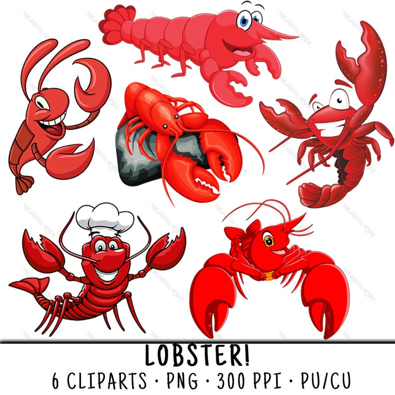 Seafood clipart clip art. Lobster png