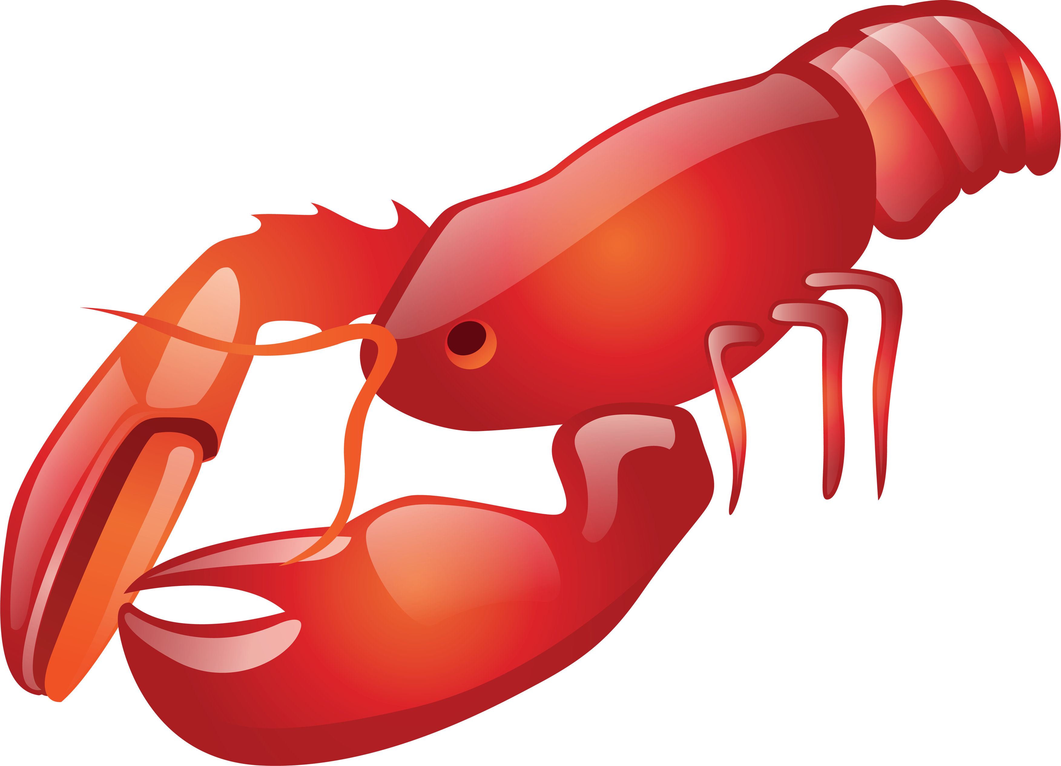 Crawfish clipart lobster. Free download best on