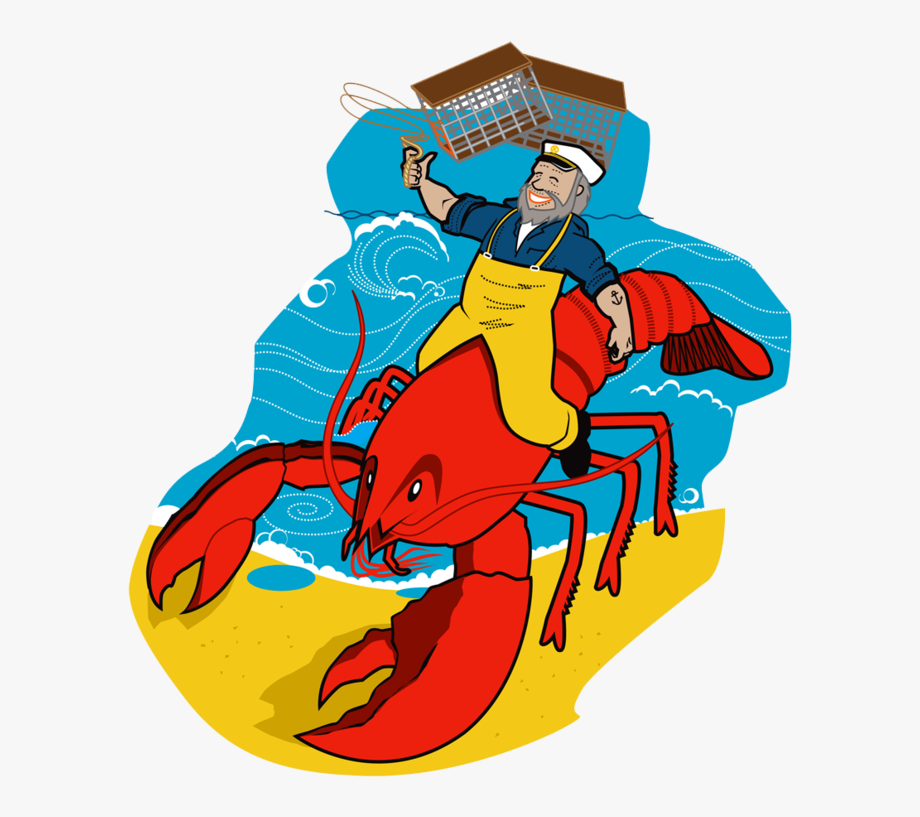 Lobster clipart lobster fishing. Bake