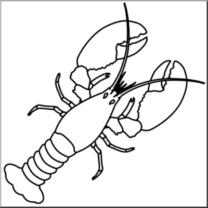 Lobster clipart lobster outline. Free download best on