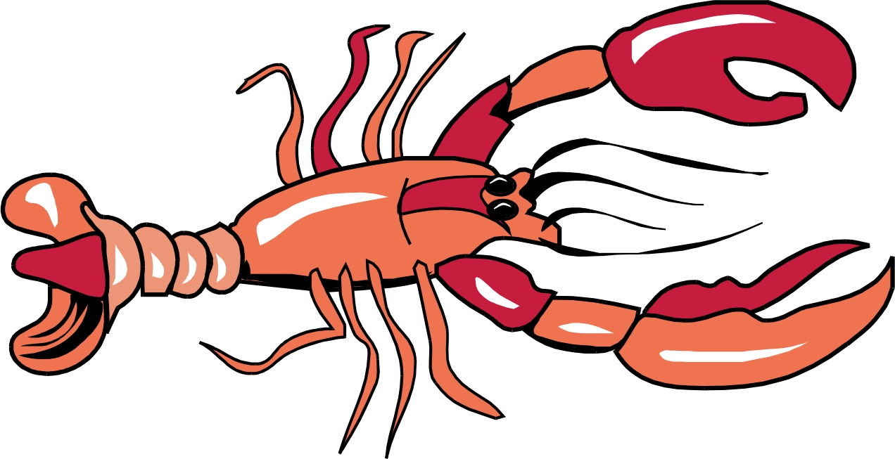 Lobster clipart lobster outline. Wikiclipart