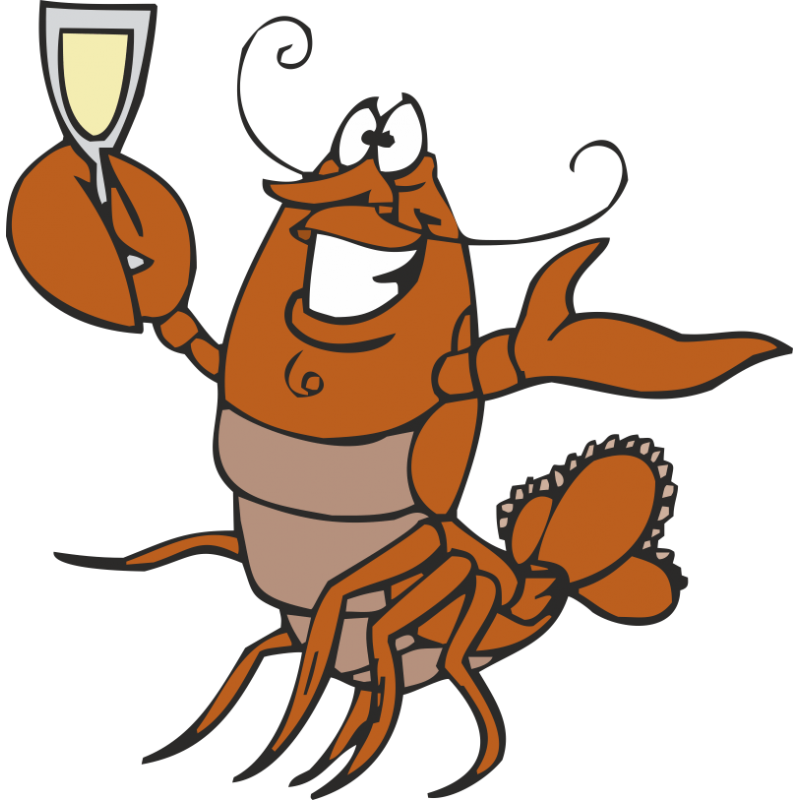 Food american red. Lobster clipart lobster roll