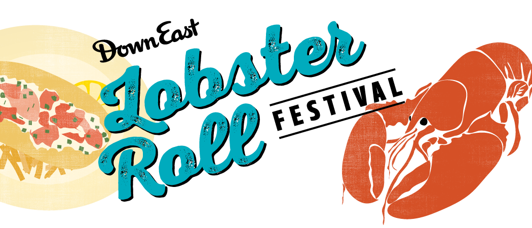 Lobster clipart lobster roll. Downeast magazine s festival