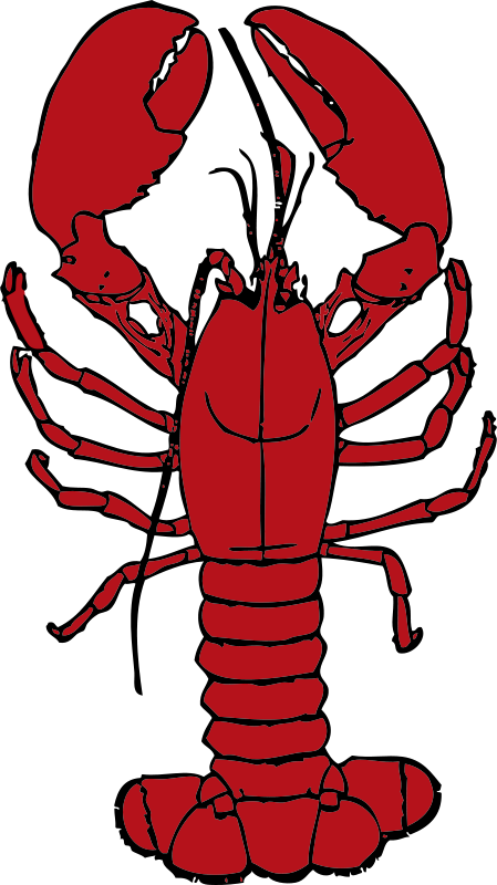 Crustacean image group free. Lobster clipart sad