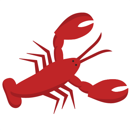 Cute free download best. Lobster clipart simple