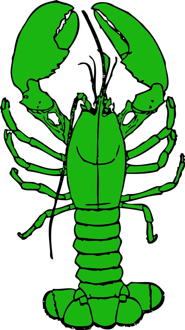 Lobster clipart simple. Ares