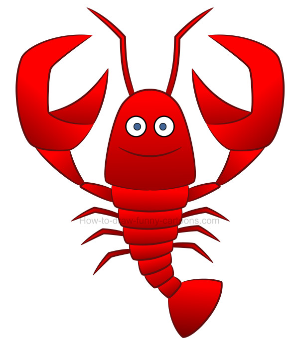 How to create a. Lobster clipart sketch