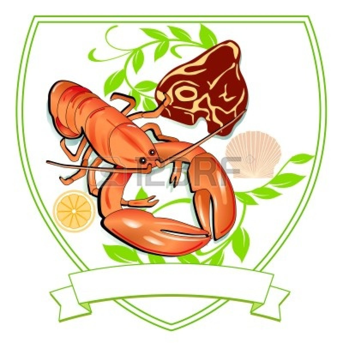 Lobster clipart steak lobster. And clip art library