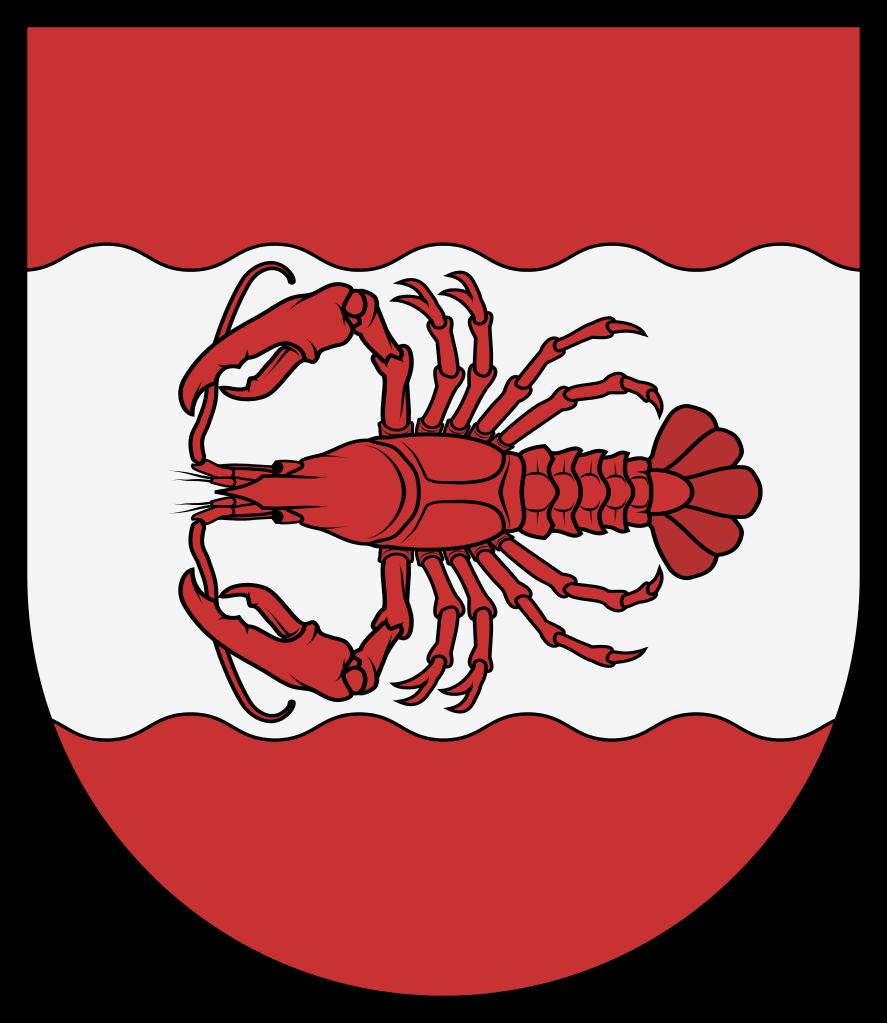 File coa austria town. Lobster clipart svg