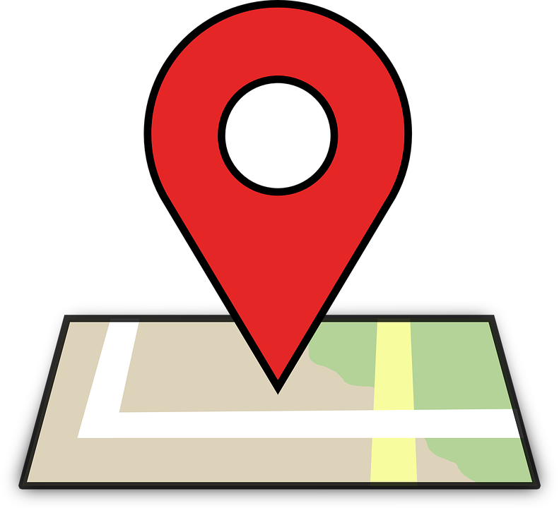 The influence of digital. Location clipart absolute location