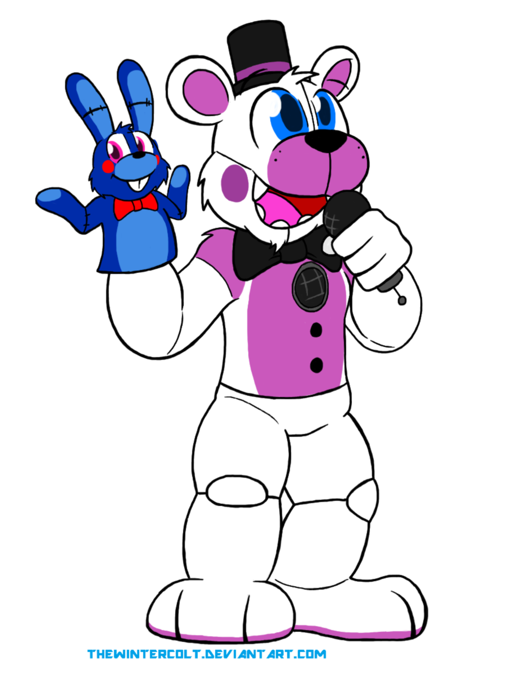 Funtime freddy by thewintercolt. Location clipart bad