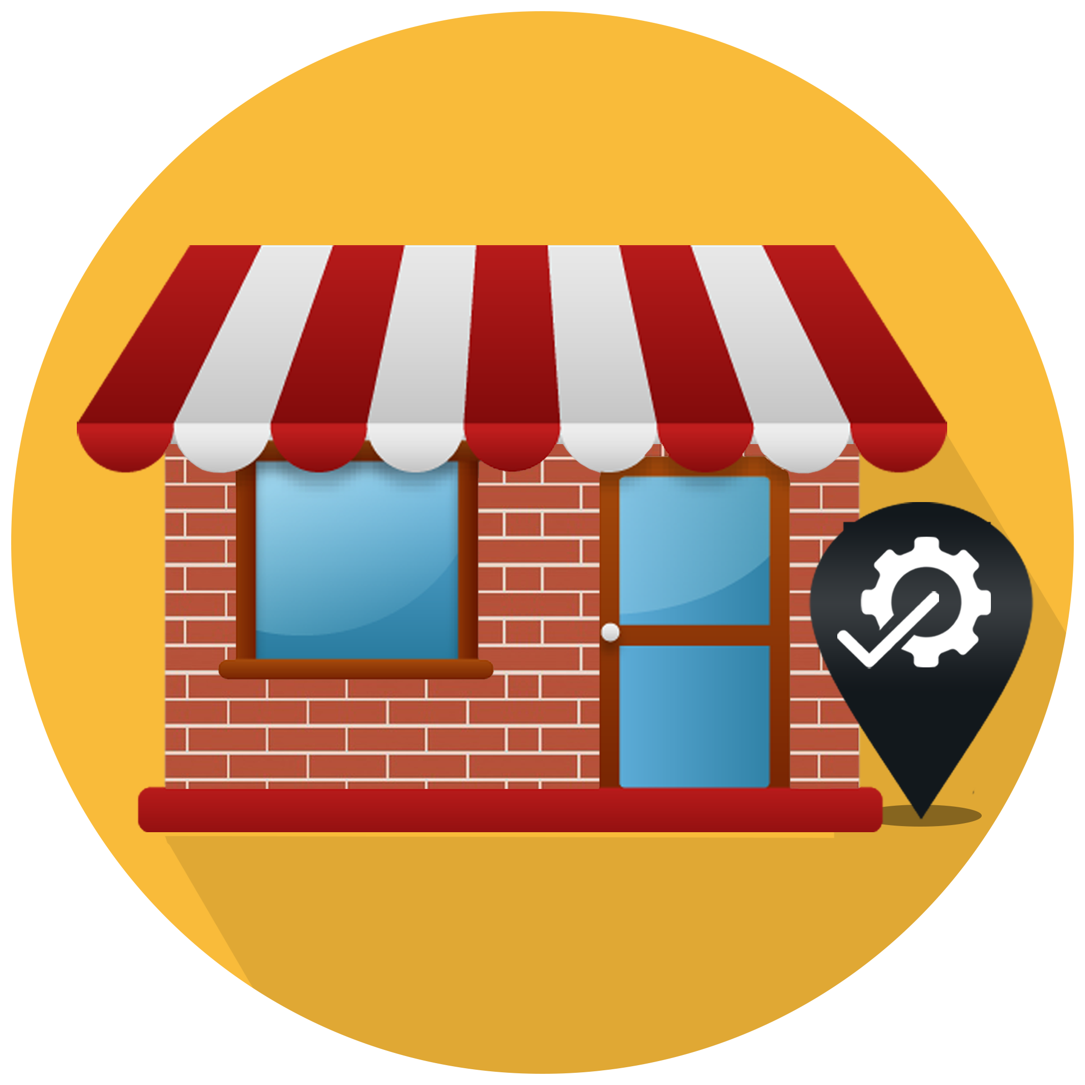 Get started rise local. Location clipart business location
