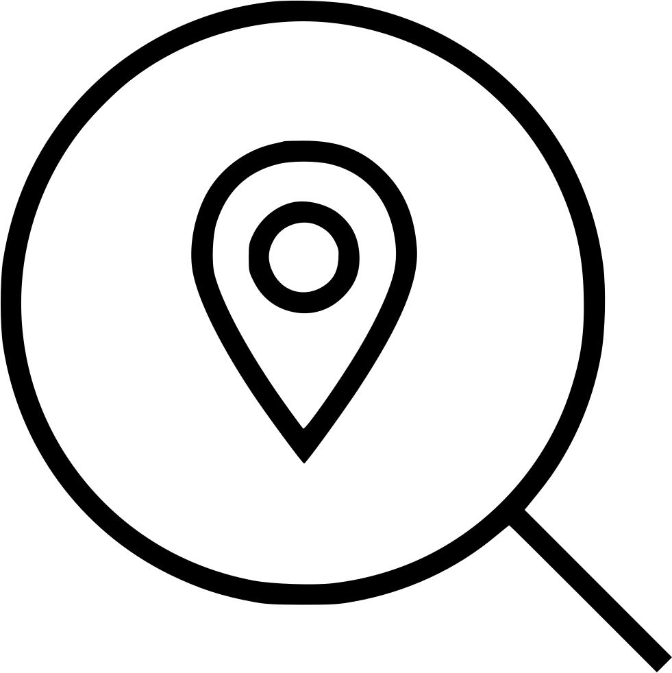 Find pin svg png. Location clipart business location