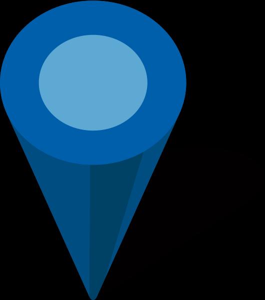 Blue icon panda free. Location clipart green