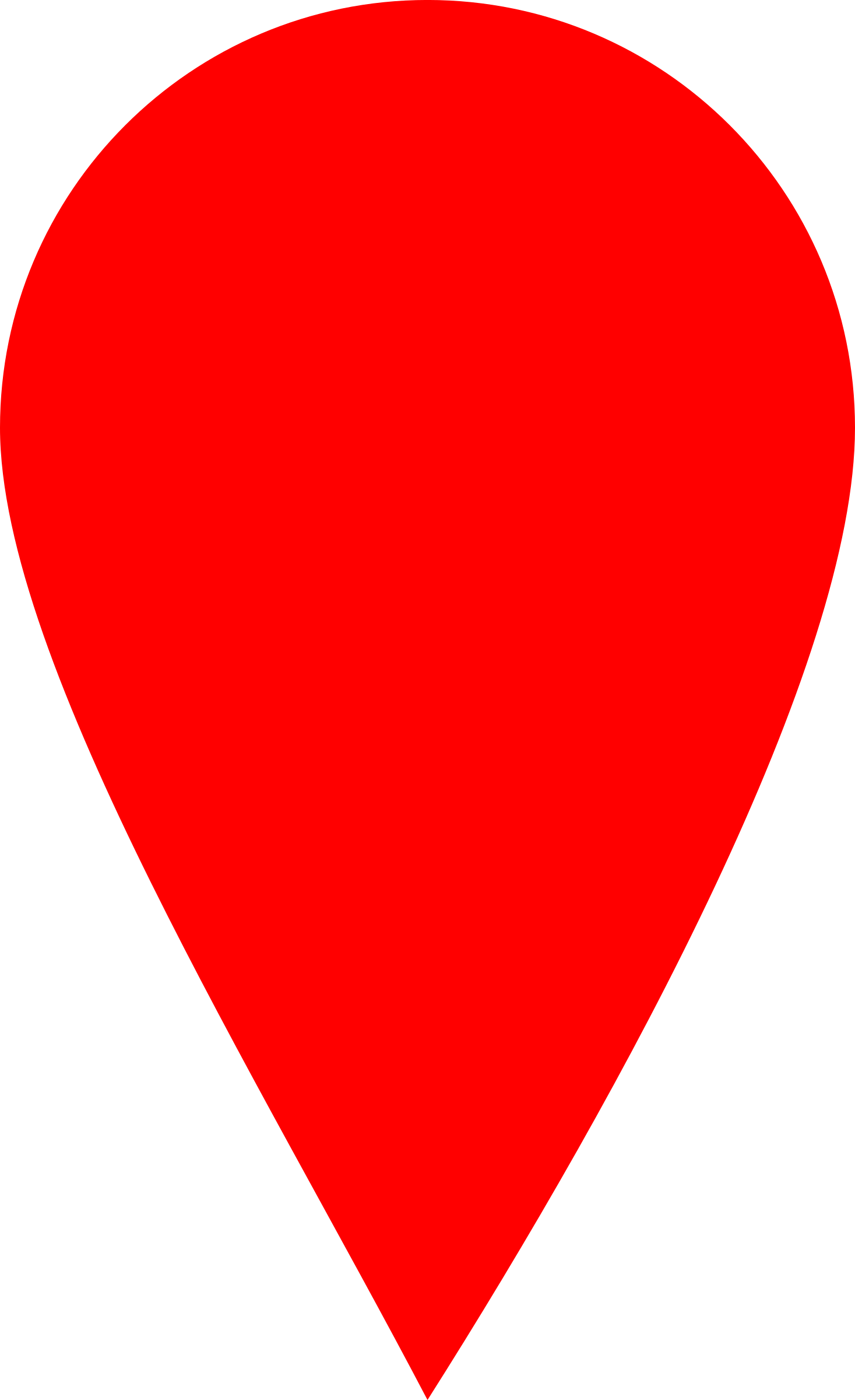 Red map locator marker. Markers clipart broadline