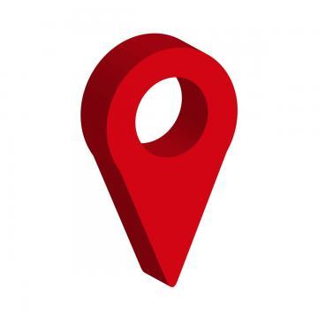 pin clipart location