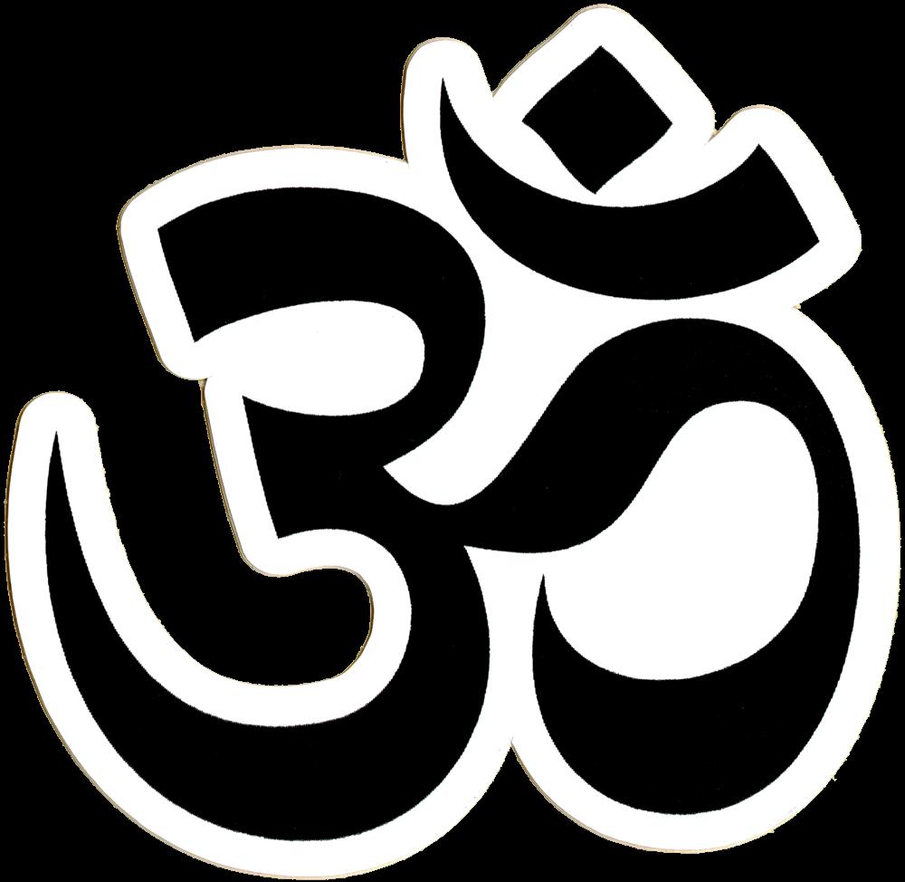 Location clipart symbol small. Om bumper sticker decal