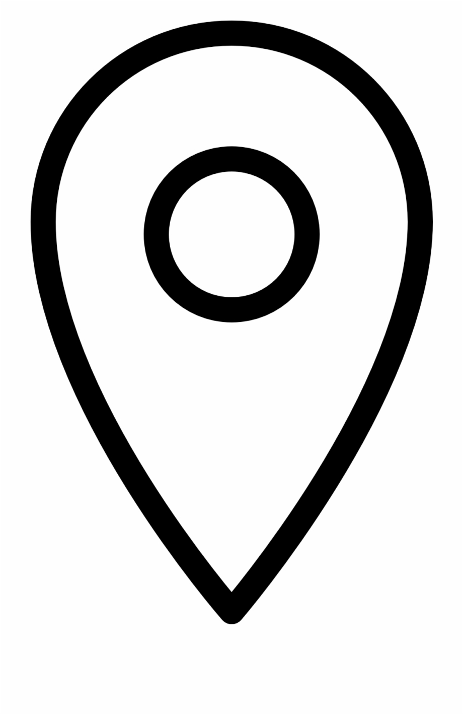 Svg png icon free. Location clipart symbol small