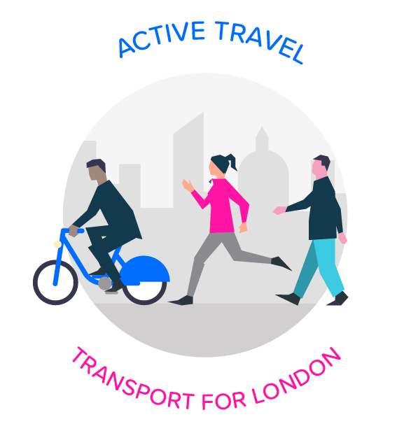 Challenge active travel planning. Planner clipart real estate developer