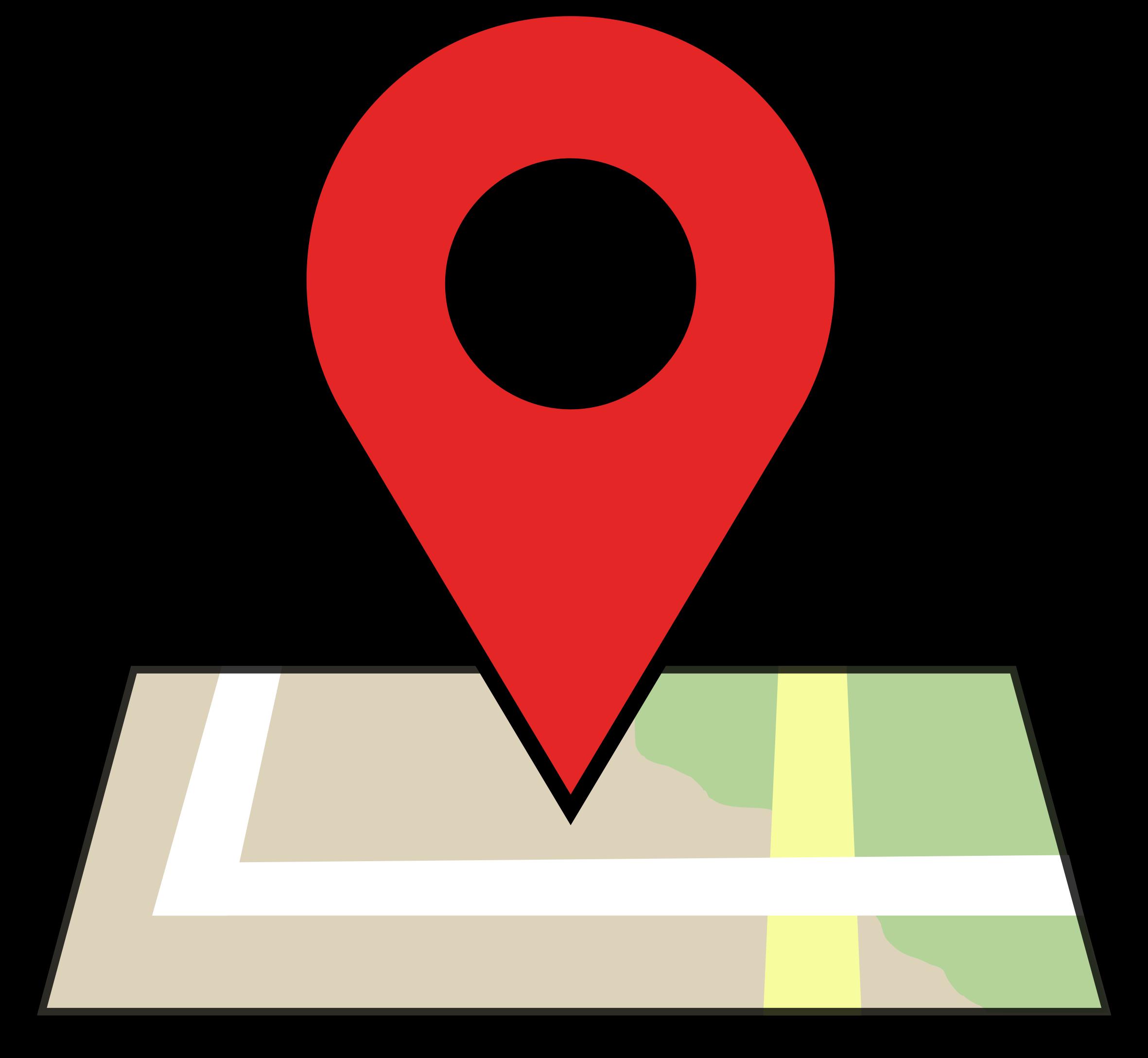 Clipart map nearby. Location clip art panda