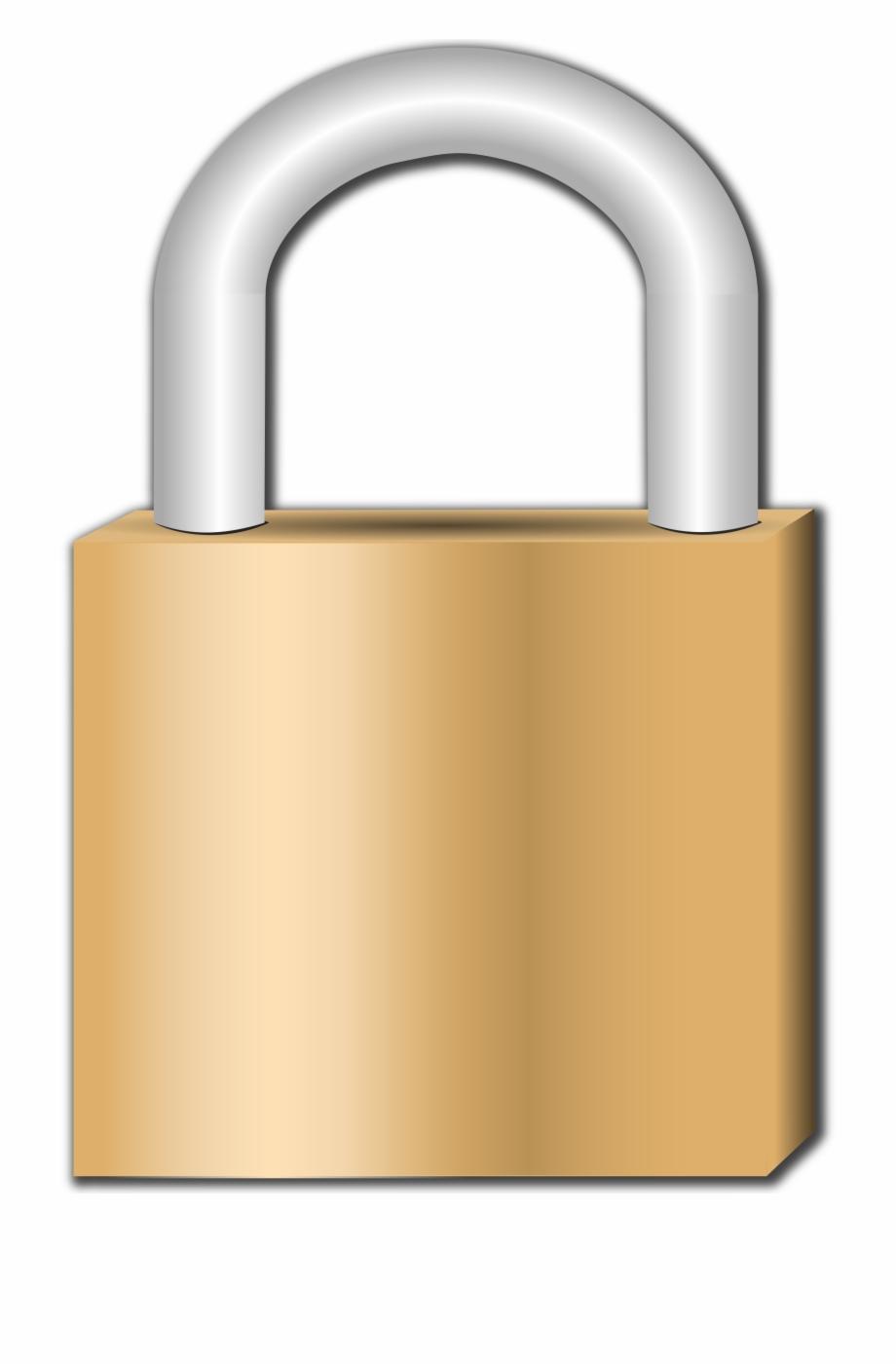 Lock clipart big. Transparent padlock hd png