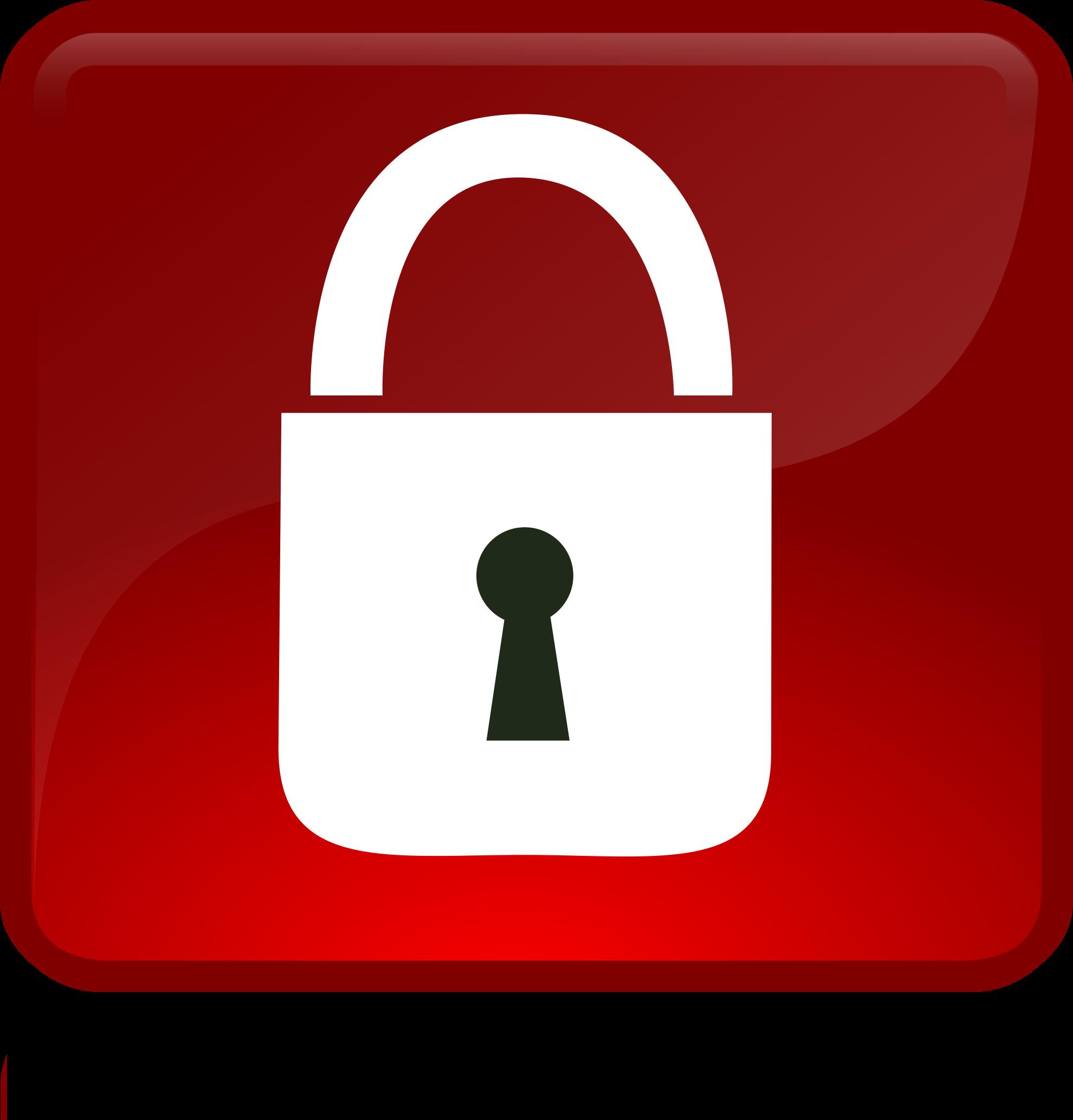 Lock clipart big. Free download clip art