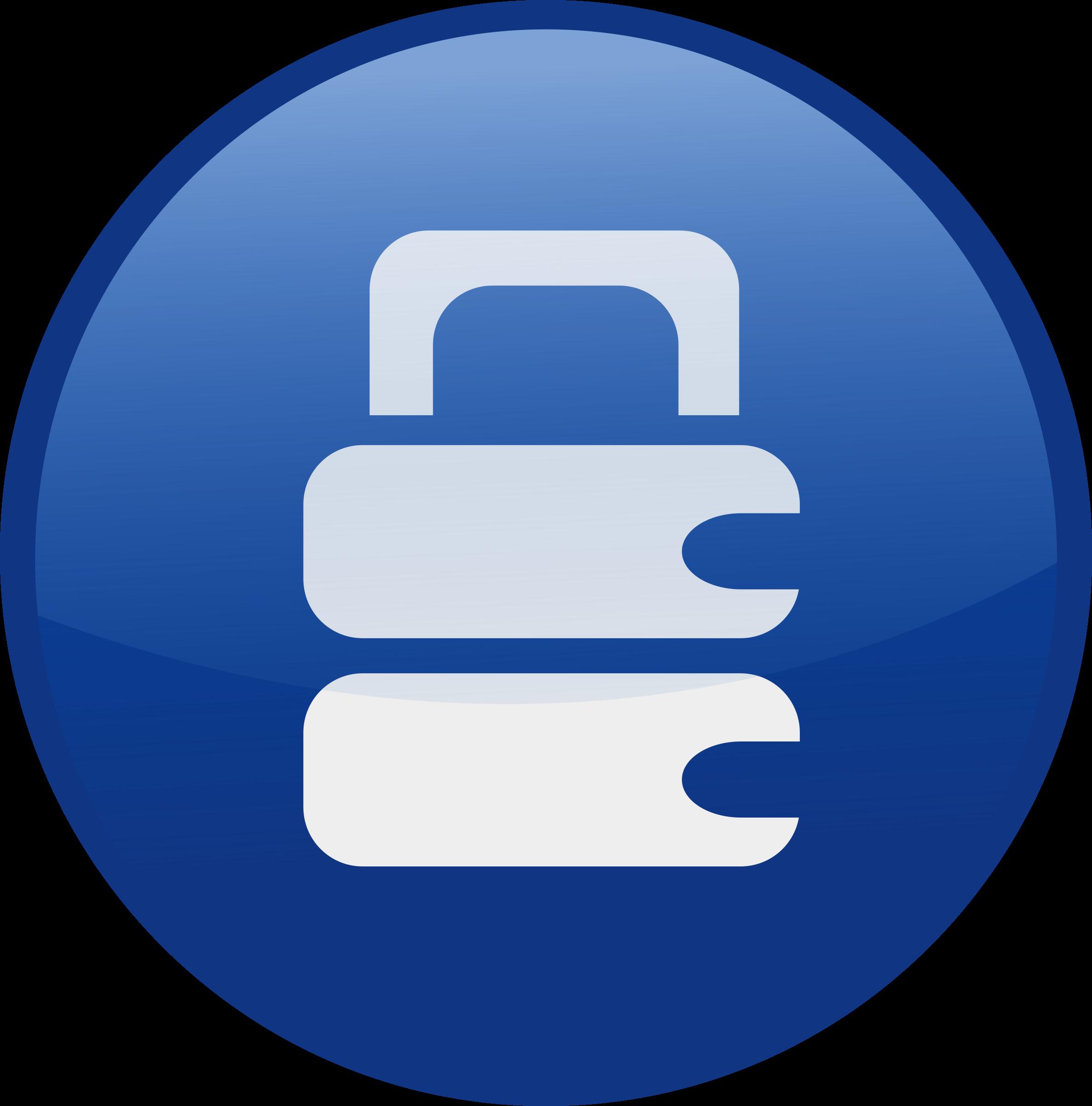 Lock clipart blue. Locked big image png