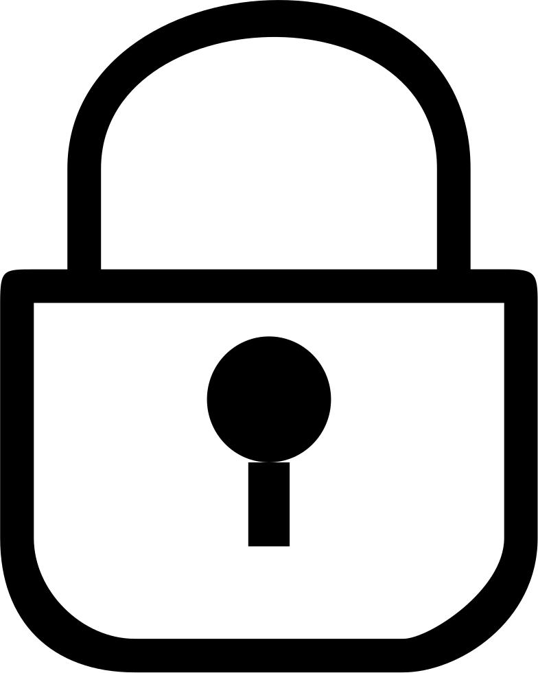 Lock clipart broken lock. Password svg png icon
