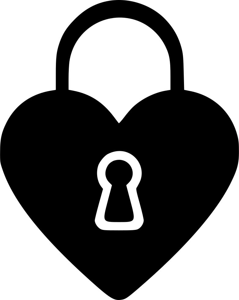 Lock clipart broken lock. Day heart svg png