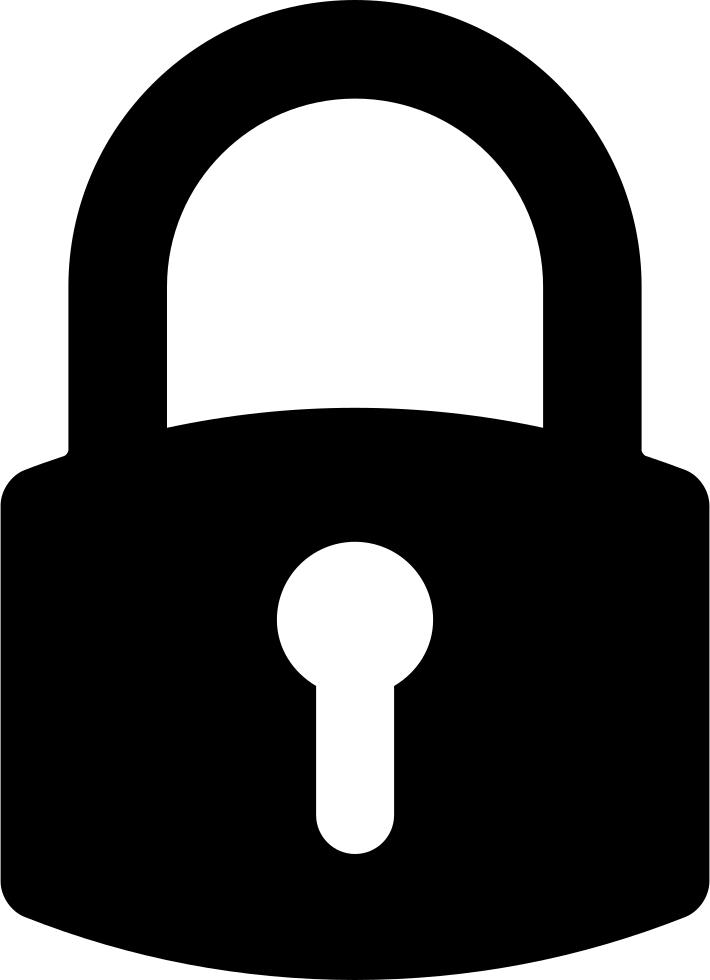 Symbol for interface svg. Lock clipart broken lock