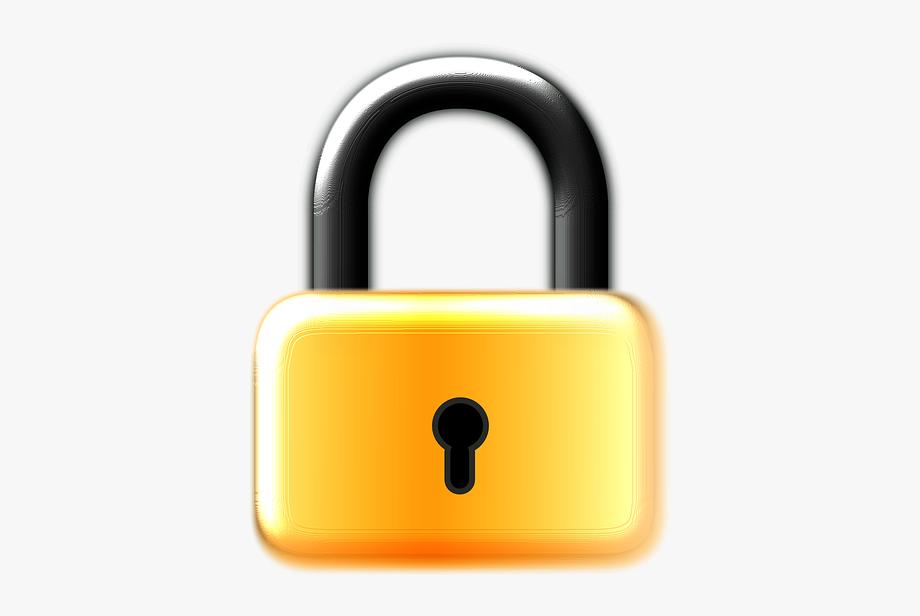 Open free . Lock clipart clip art