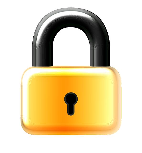 Padlock clipart unlocked padlock. Business backup solutions and