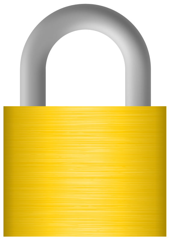 Lock clipart combo lock. Easy free cliparts page