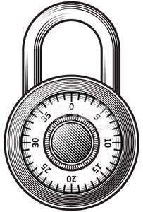 Combination premium clipartlogo com. Lock clipart combo lock